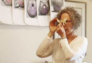 Carol Gray Demonstrates the Sphenoid