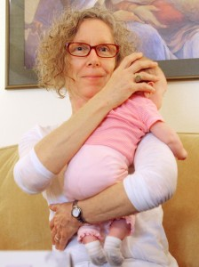 Carol Gray Giving a Baby a CST Treatment